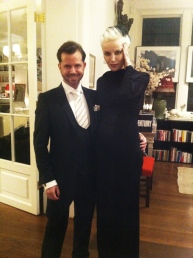 David V Barron and Daphne Guinness