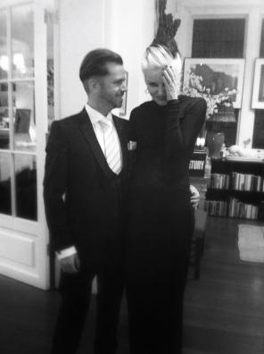 David V Barron and Daphne Guinness
