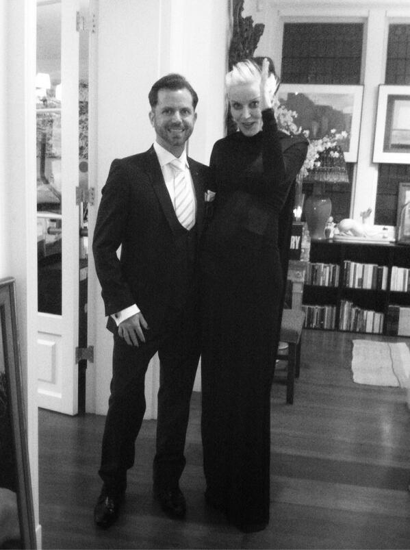 David V Barron Daphne Guinness