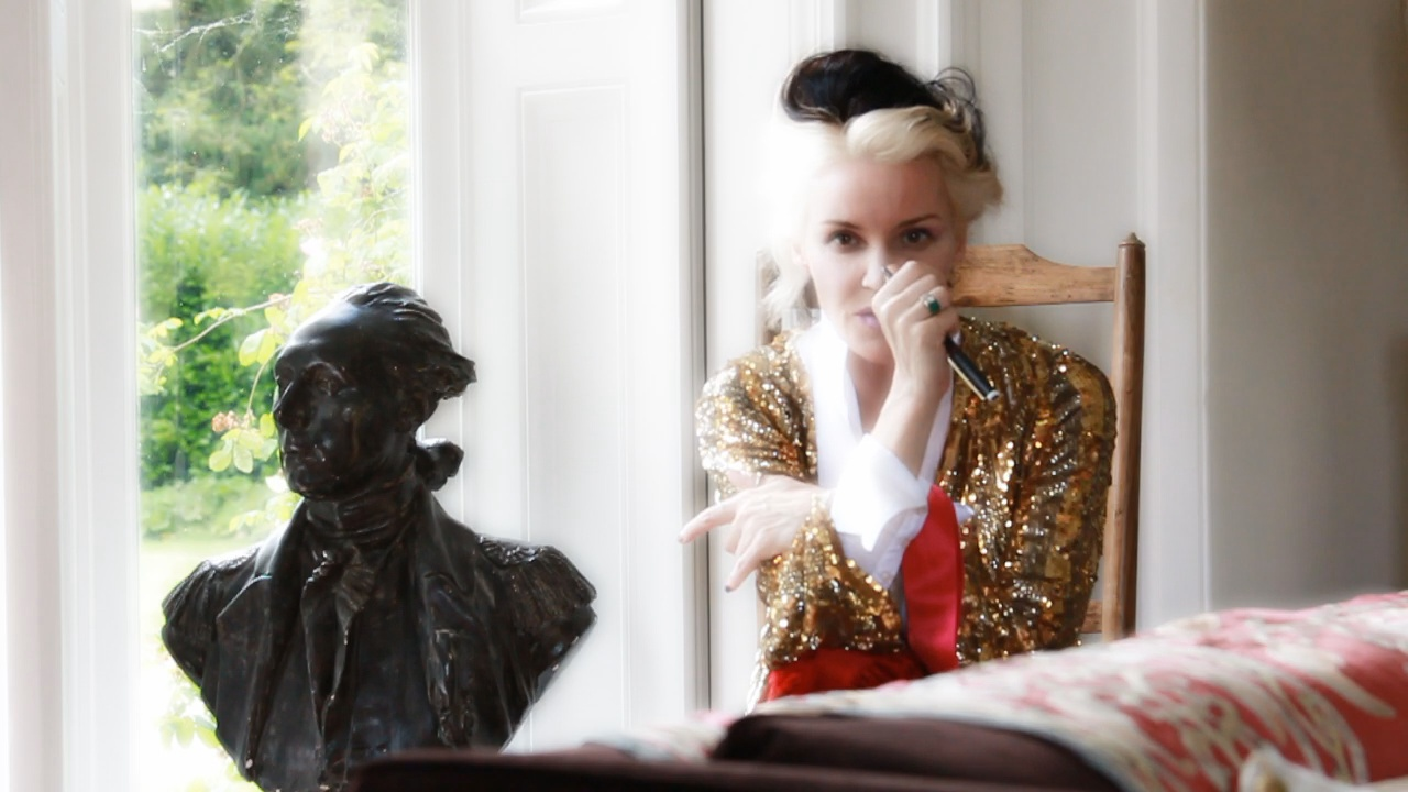 Daphne Guinness Photographed By David V Barron