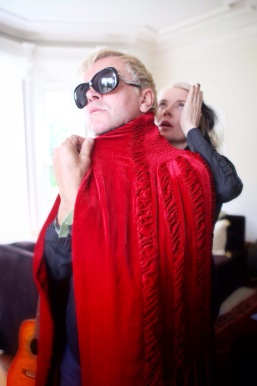 The late Steve Strange (Visage) with Daphne Guinness, photographed by me in 2014. RIP Steve and thank you for the music XXX