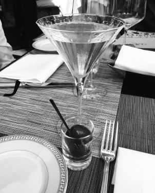 Four Seasons know how to serve a martini