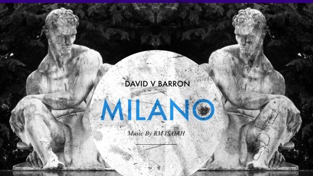BY DAVID V BARRON