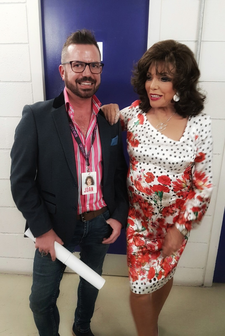 Joan Collins Unscripted